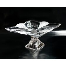 Aurora Crystal Pedestal Plate