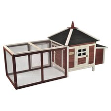 The Prairie Home Poultry Chicken Coop with Removable Roof