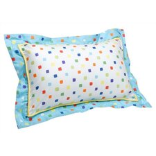 Reef Printed Decorative Cotton Pillow
