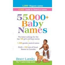 55000+ Baby Names Book