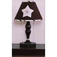 <strong>Geenny</strong> Lamp Shade - Moon and Star Pink / Brown