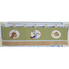 Safari Jungle Cotton Blend Curtain Valance
