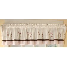 <strong>Geenny</strong> Blossom Quilt Cotton Blend Curtain Valance