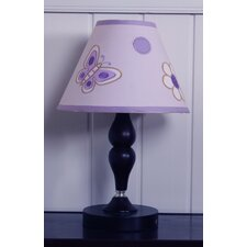 Lamp Shade - Butterfly  Lavender