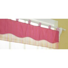 Girl Dragonfly Cotton Blend Curtain Valance