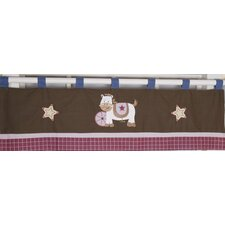 Western Cowgirl Cotton Blend Curtain Valance