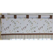Giraffe Family Cotton Blend Curtain Valance