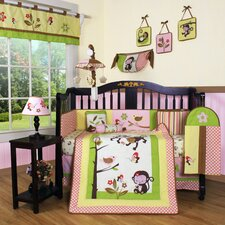 <strong>Geenny</strong> Boutique Monkey 13 Piece Crib Bedding Set