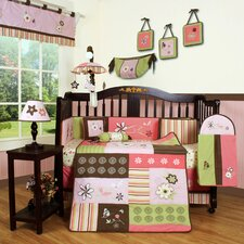 <strong>Geenny</strong> Boutique Floral Dream 13 Piece Crib Bedding Set