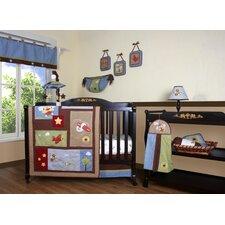 Boutique Airplane Aviator 12 Piece Crib Bedding Set