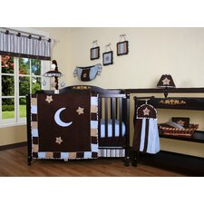 <strong>Geenny</strong> Boutique Moon and Star 13 Piece Crib Bedding Set