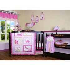 <strong>Geenny</strong> Boutique Girl Dragonfly 13 Piece Crib Bedding Set