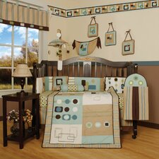 Boutique Baby Boy Artist 13 Piece Crib Bedding Set