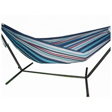 <strong>Vivere Hammocks</strong> Brazilian Single Fabric Hammock with Stand