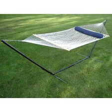 <strong>Vivere Hammocks</strong> Polyester Rope Hammock with Stand