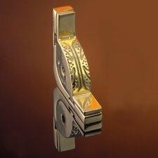 "Dynasty 120"" Roped Tubular Stair Rod Set with Decorative Brackets Ball Finials"