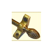 "Inspiration 36"" Stair Rod Set with Pineapple Finials"