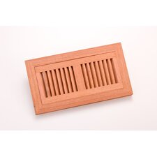 "10.5"" x 4.375"" Brazilian Cherry Flush Mount Vent"