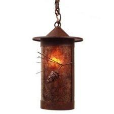 Ponderosa Pine Pasadena 1 Light Hanging Lantern