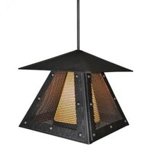 Rogue River Prairie Mesh 1 Light Hanging Lantern