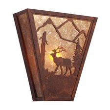 Elk Vegas 1 Light Wall Sconce