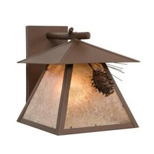 Ponderosa Pine Cascade 1 Light Wall Sconce