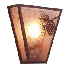 Pinecone Vegas 1 Light Wall Sconce