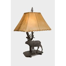 "Elk Shasta 22"" H Table Lamp with Rectangle Shade"