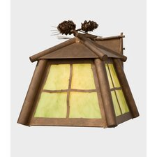 Saranac 1 Light Oudoor Wall Sconce