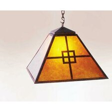 Prairie 1 Light Swag Pendant