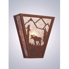 Moose Vegas 1 Light Wall Sconce