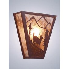 Deer Vegas 1 Light Wall Sconce