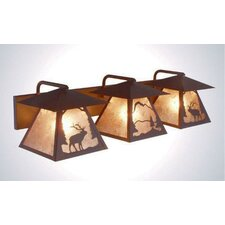 Elk Twin Prairie 3 Light Vanity Light
