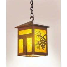 Mission 1 Light Hanging Lantern