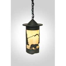 Bear Pasadena 1 Light Hanging Lantern