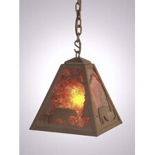 Bear Timber Ridge 1 Light Hanging Lantern