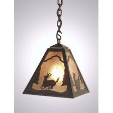 Deer Timber Ridge 1 Light Hanging Lantern