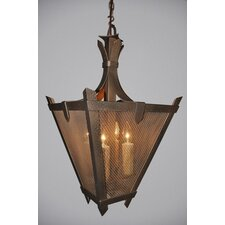 Tuscany Mesh 1 Light Hanging Lantern