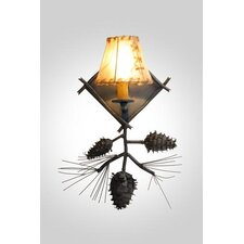 Ponderosa Pine 1 Light Wall Sconce