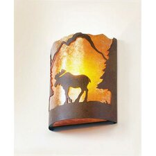 Moose Timber Ridge 1 Light Wall Sconce