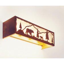 Bear Timber Ridge 4 Light Vanity Light Wall Sconce
