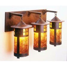 Pasadena 3 Light Vanity Wall Sconce