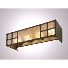<strong>Steel Partners</strong> San Carlos 4 Light Vanity Wall Sconce