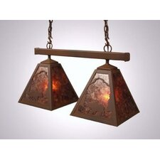 Bear Double Anacosti Light Pendant