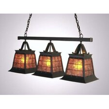 Top Ridge Triple Anacosti Light Pendant