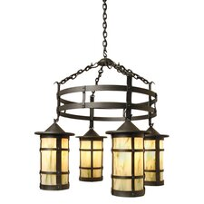 <strong>Steel Partners</strong> San Carlos 4 Light Pasadena Chandelier