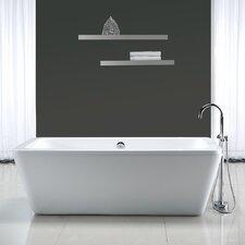 """Kido 69'' x 23"""" Acrylic Freestanding Bathtub"""