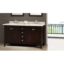 "<strong>Ove Decors</strong> Amsterdam 60"" Double Bathroom Vanity Set"