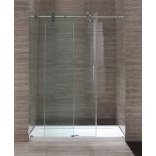 60'' Glass Sliding Door Shower Enclosure