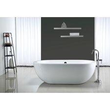 "Serenity 71'' x 34"" Acrylic Freestanding Bathtub"